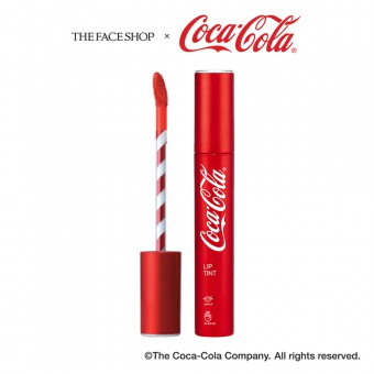 Coca-Cola Lip Tint 01 Enjoy Sunshine