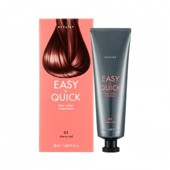 Stylist Easy & Quick Hair Color Treatment 01 Cherry Red